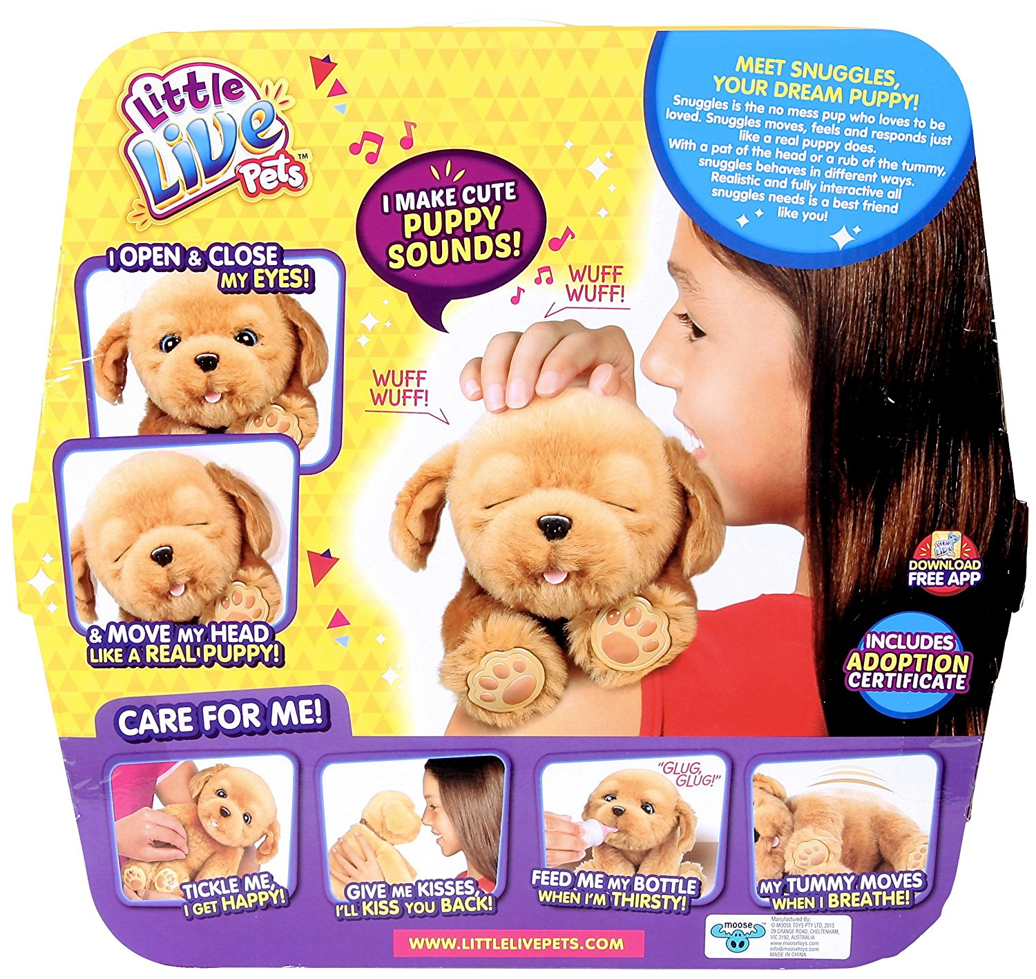 Little live pets snuggles my dream puppy review kids toys news little live pets snuggles my dream puppy xflitez Gallery