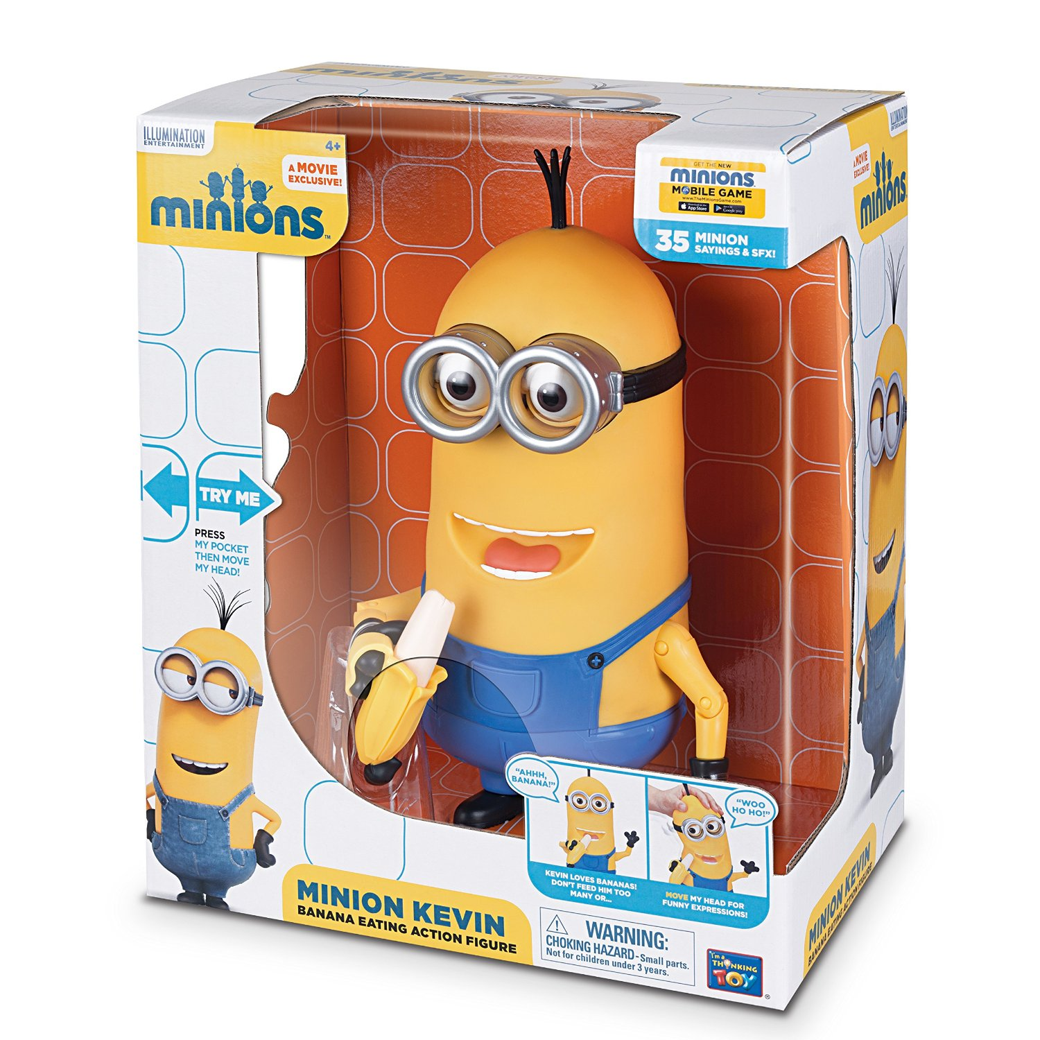 Minion Kevin Banana Eating Action Figure Review Kids Toys News