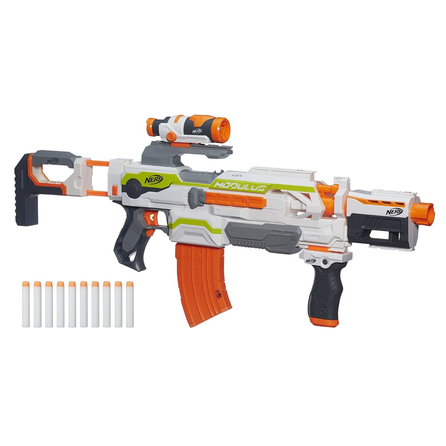 Nerf N Strike Modulus ECS 10 Blaster Review Kids Toys News