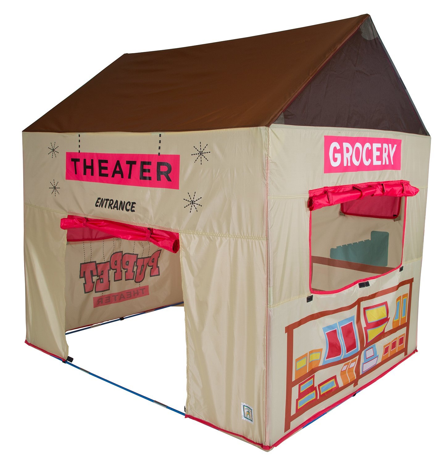 Pacific Play Tents Kids Grocery Store and Puppet Theater House Tent Playhouse Review  sc 1 st  Kids Toys News & Mag-genius award-winning building magnet tiles toy - Kids Toys News