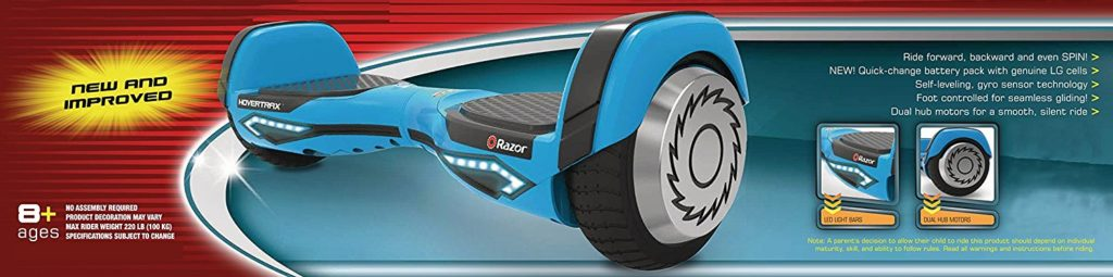 Razor Hovertrax 2 0 Hoverboard Self Balancing Smart Scooter Review