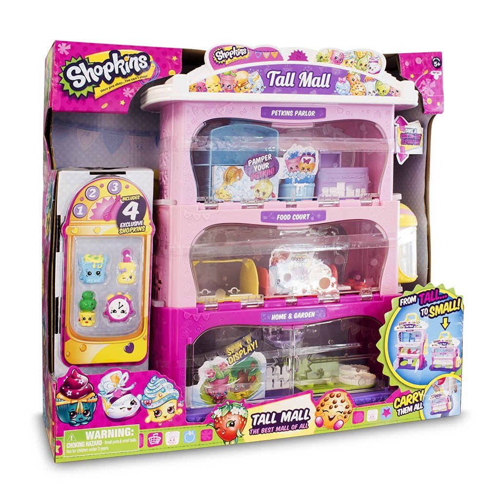 Shopkins Tall Mall Storage Case Play Set Review Kids Toys News