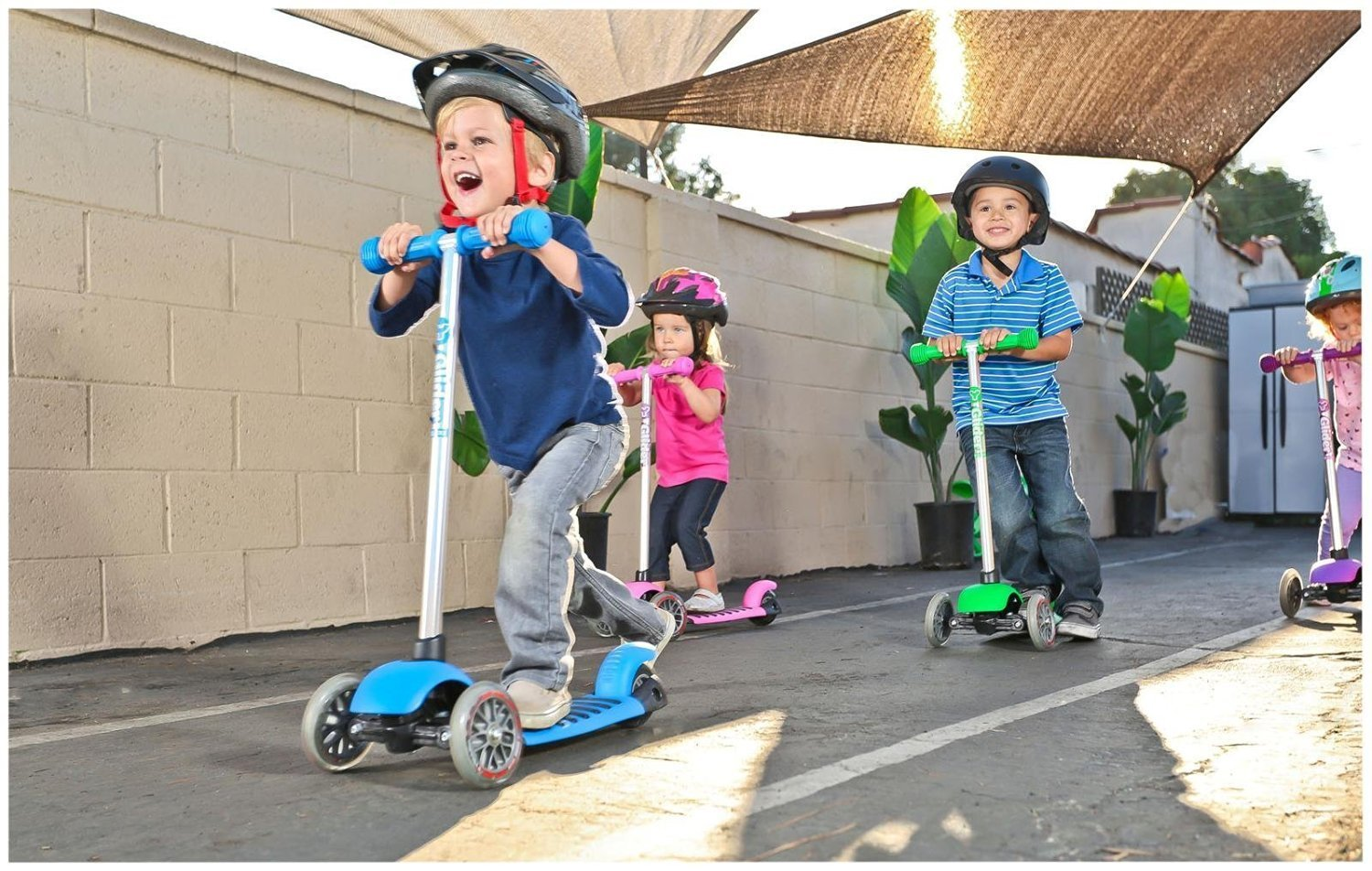 Yvolution Y Glider Deluxe Scooter Review Kids Toys News