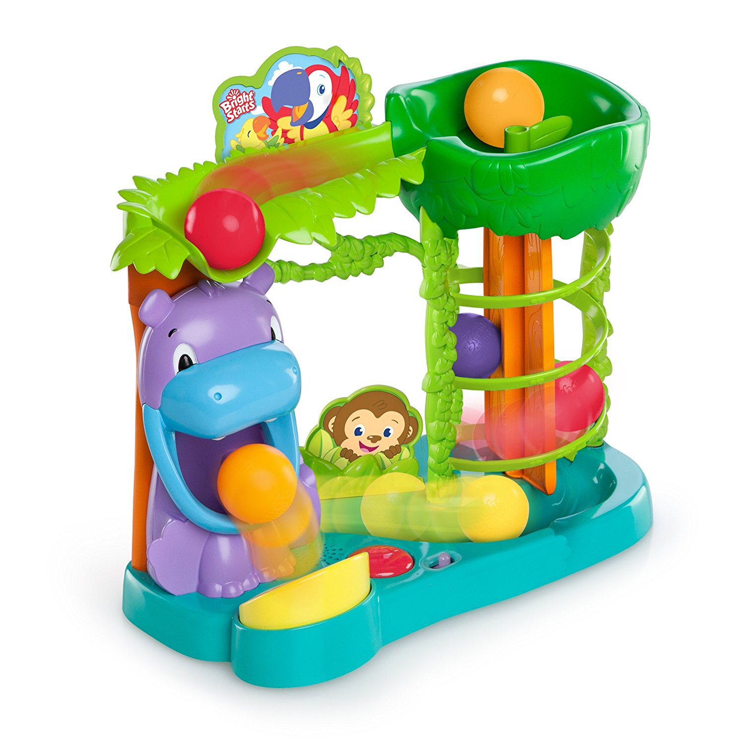 Bright Starts Having A Ball Jungle Fun Ball Climber Review Kids