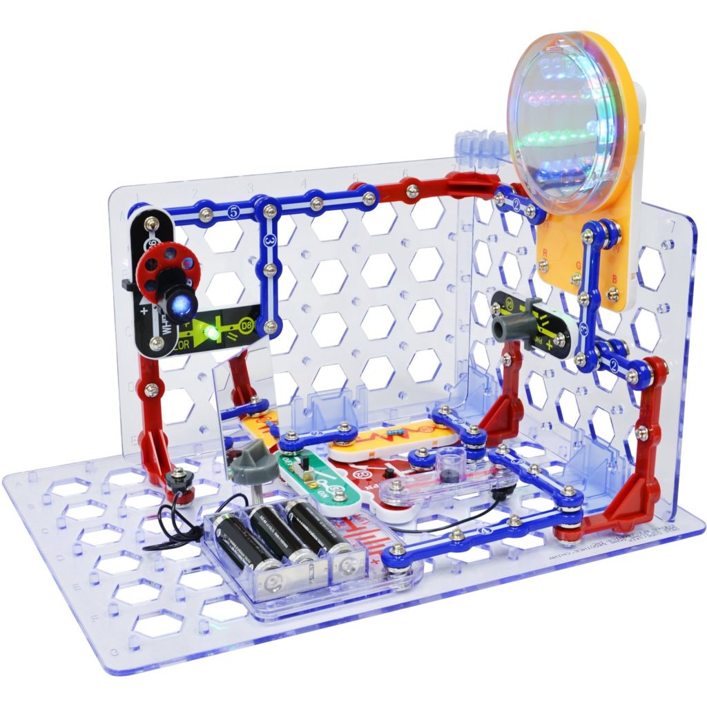 Kids Snap Electronics Circuits Pro Sc 500 Educational Toy Game New