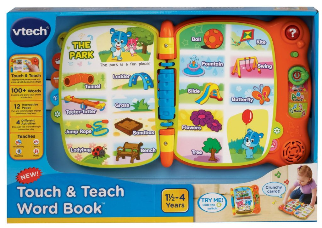 VTech Touch and Teach Word Book 50 Best Toys \u0026 Gift Ideas for 2 Year Old Boys Girls In 2019