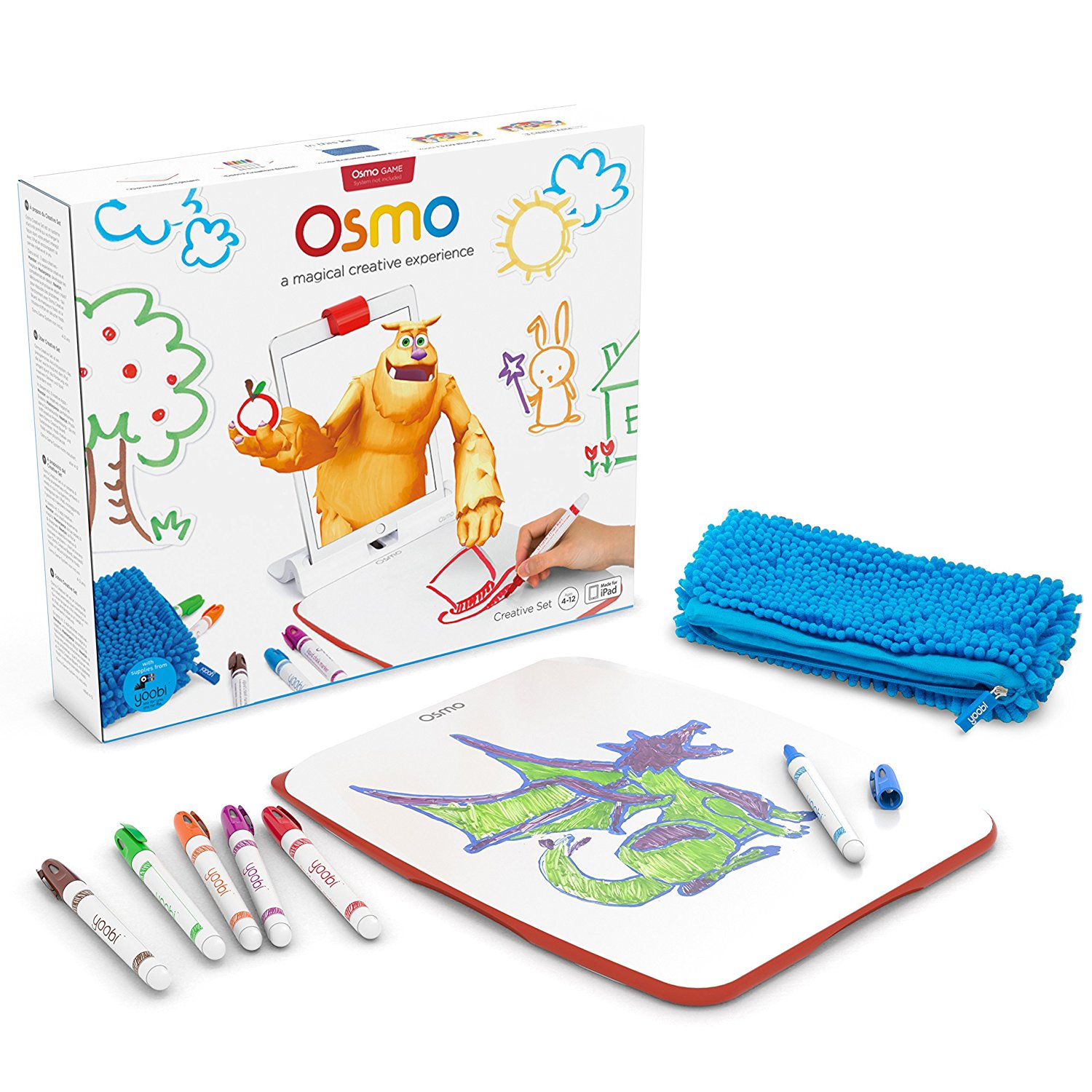 Osmo creative set for Monster Game Add on Review Kids Toys News