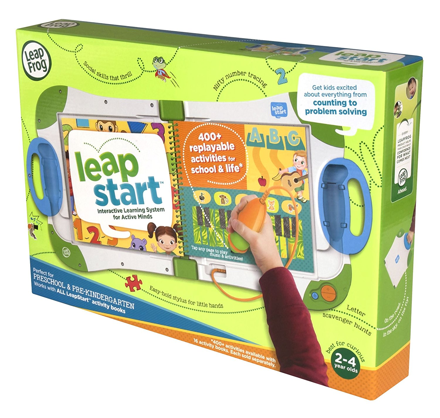 LeapFrog LeapStart Interactive Learning System4 - Kids ...