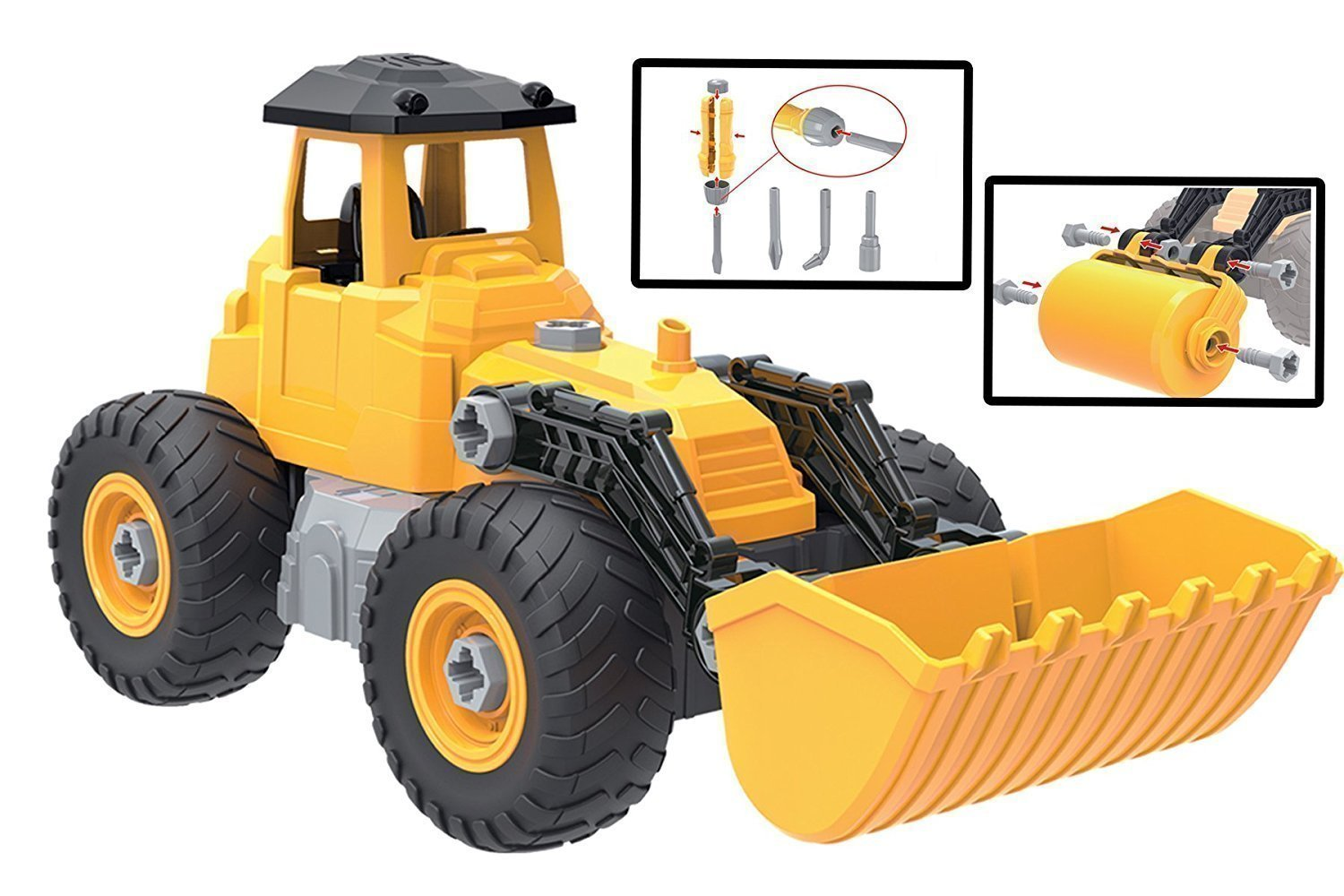 kidwerkz toy truck bulldozer review kids toys news