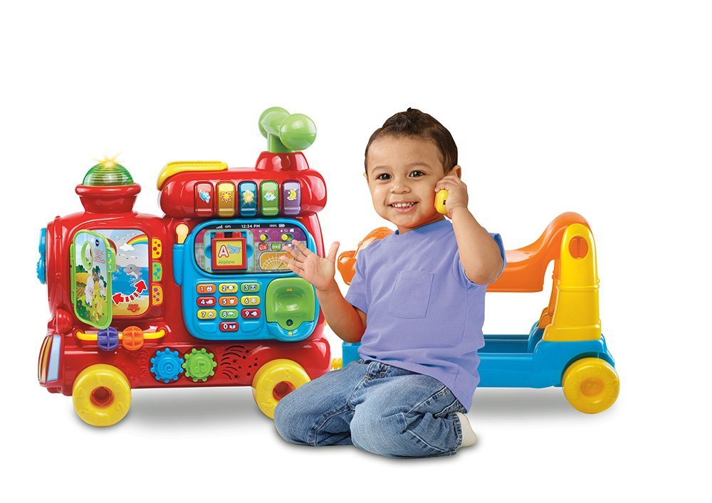 Vtech Sit To Stand Ultimate Alphabet Train Review Kids