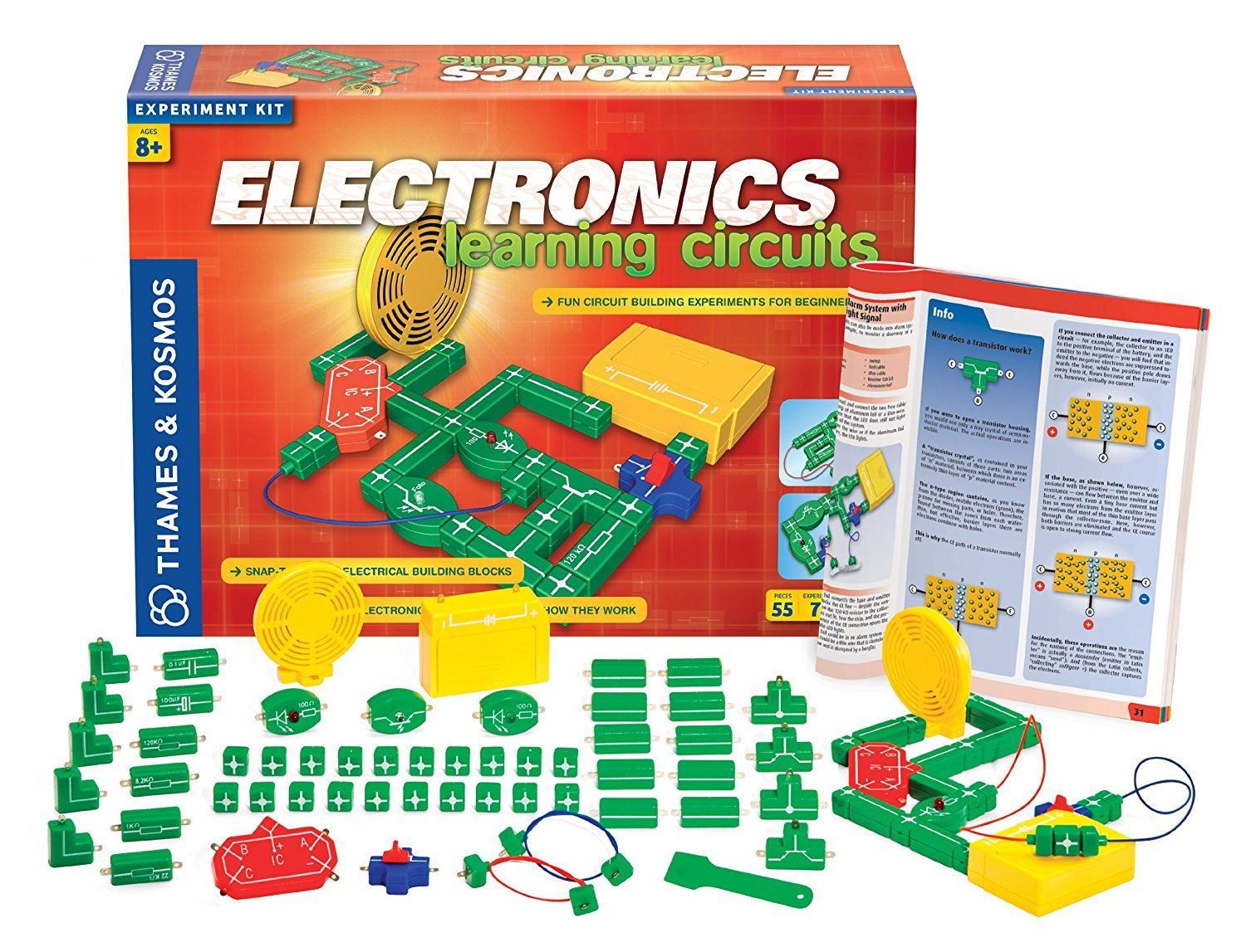 Top 8 Best Selling Thames Kosmos Stem Toys Electrical Science Learn About Electricity For Kids Amp Electronics Learning Circuits