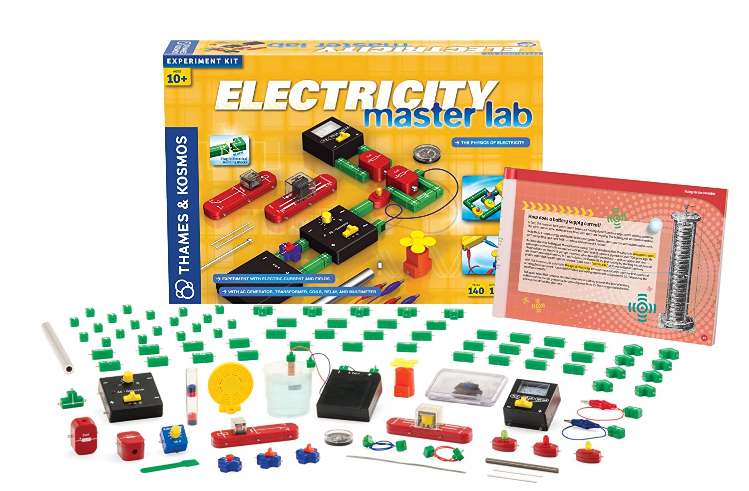 Top 8 Best Selling Thames Kosmos Stem Toys Electrical Science And Conductivity Kit 25 Electricity Master Lab Check Price Now