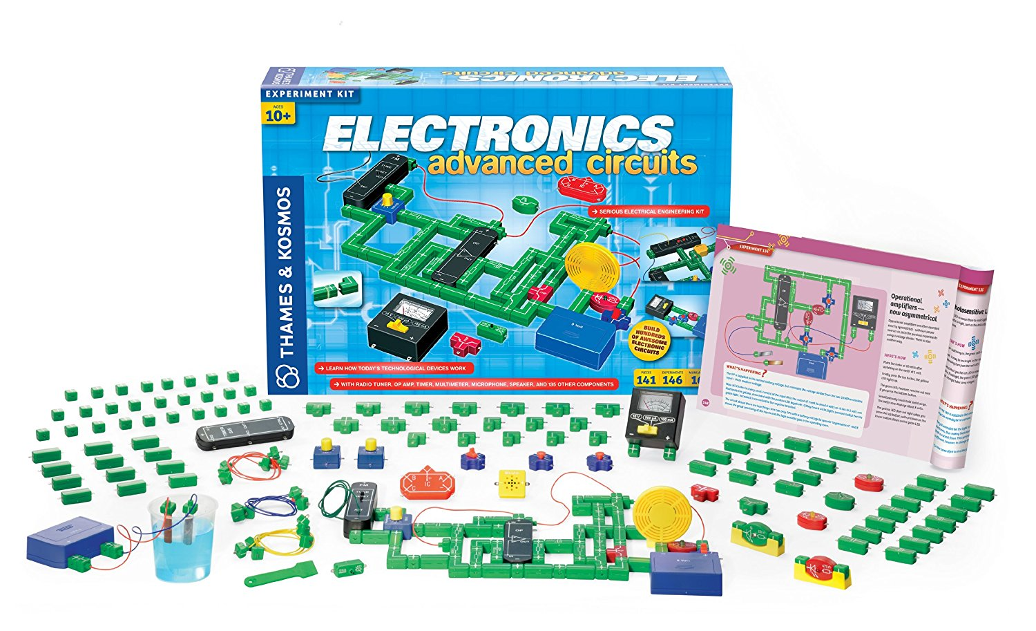 Top 8 Best Selling Thames Kosmos Stem Toys Electrical Science Building Electric Circuit And Electronics Advanced Kit