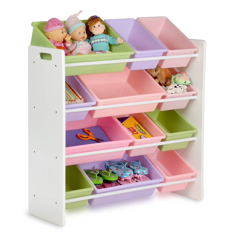 Captivating Honey Can Do SRT 01603 Kids Toy Organizer And Storage Bins
