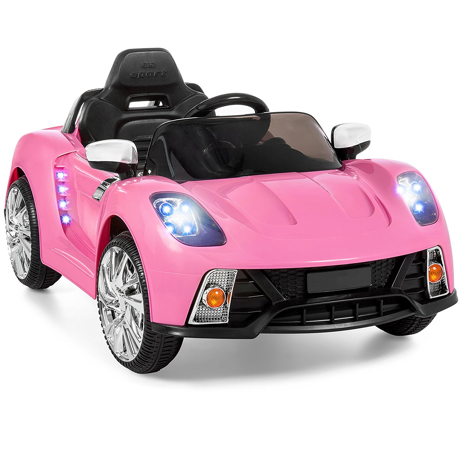 Top 15 best selling electric cars toy review in 2018 for Pink mercedes benz power wheels