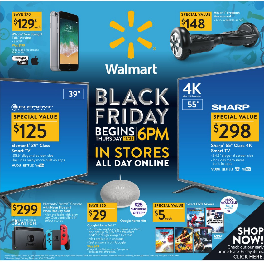 Walmart Black Friday 2017 - Best Toy Deals - Kids Toys News